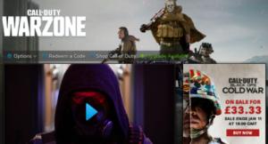 warzone Call of Duty COD