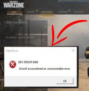 dev error 6068 cod